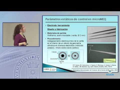SFCM 12.11 16: metallische Werkstoffe elektrochemischen Mikrobearbeitung.