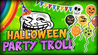 THE HALLOWEEN PARTY TROLL EXPLOSION (Minecraft Custom Halloween Map #2)