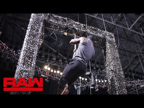 Sami Zayn Challenges Bobby Lashley To A Military-styled Obstacle Course: Raw, June 11, 2018