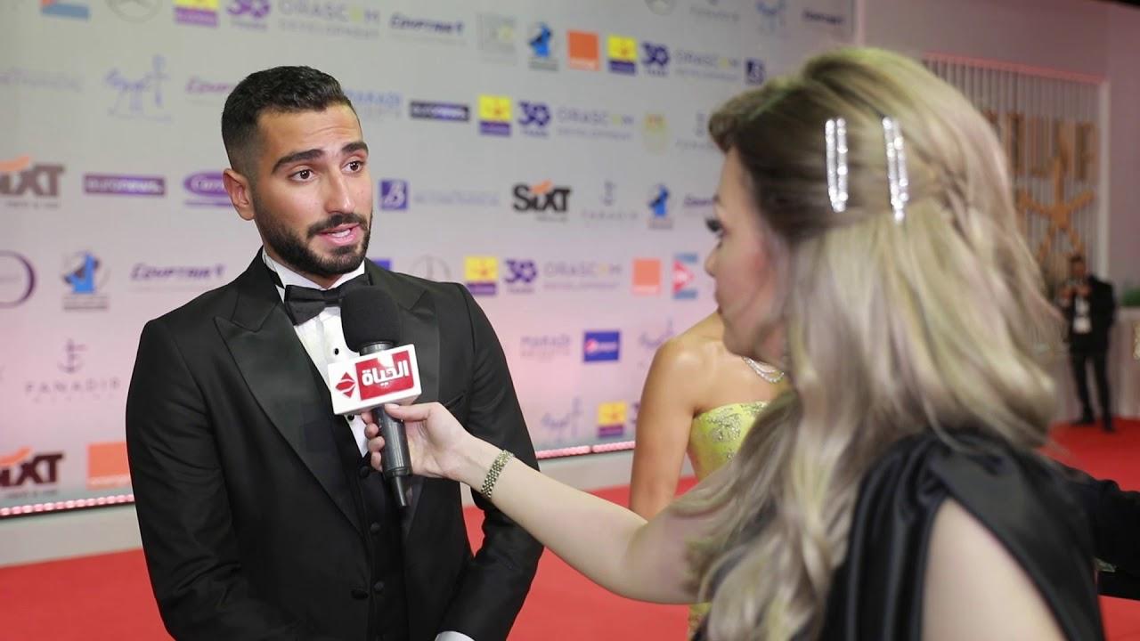 عين - محمد الشرنوبى من مهرجان الجونة: أنا مضيت فيلم شريط ستة وهبدأ في تصويره