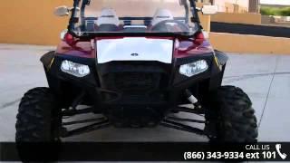 5. 2011 Polaris Ranger RZR 800 Indy Red / White LE  - RideNo...