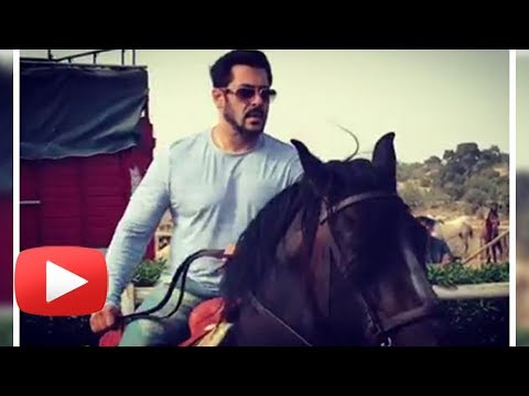 Tiger Salman Khan's Horse Riding Sessions In Moroc