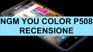 Recensione NGM You Color P508