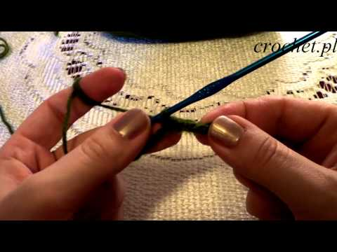 Nauka szydełkowania - sploty szydełkowe