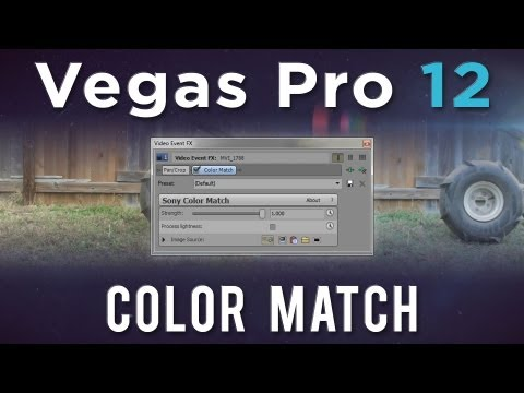 djbeto267 - Let's take a look at Color Matching in Sony Vegas Pro 12. This new plugin added through Event-FX, allows for you to match the color between clips. It can be ...