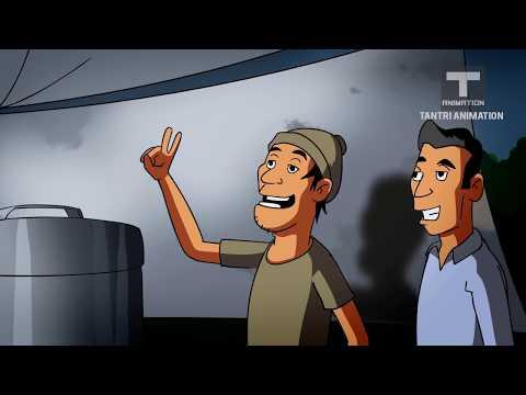 gratis download video - Kartun-Lucu-Horor--Hantu-Genit