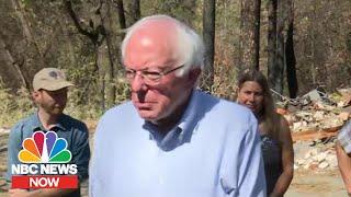 Bernie Sanders Announces Sweeping Climate Change Plan   NBC News Now