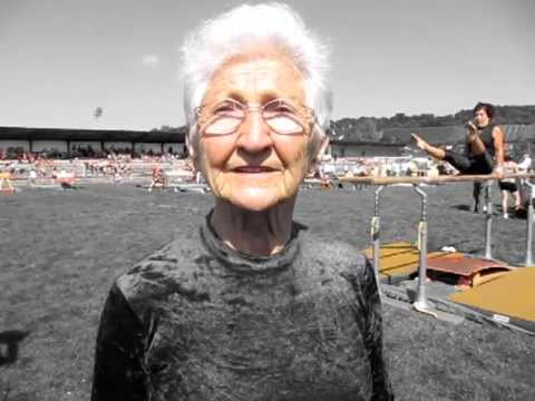 Interview with 86-year-old gymnast, Johanna Quaas!