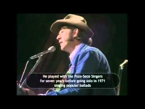 Amanda - It's Don Williams and he's singing Amanda. From way back in 1974.