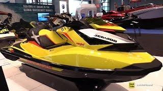 4. 2015 Sea-Doo RXP-X 260 Jet Ski - Walkaround - 2015 New York Boat Show