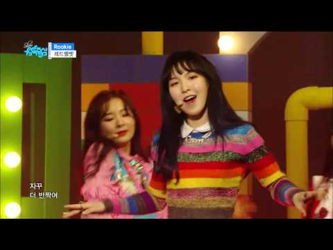 【TVPP】Red Velvet - Rookie, 레드벨벳 - 루키 @ Comeback Stage, Show Music core Live