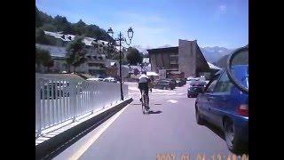 Luz-Saint-Sauveur France  City pictures : Descent of Col du Tourmalet to Luz Saint Sauveur 13th July 2015