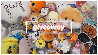 [OPEN] CRB Moving Vlog Giveaway! Squishies, Kawaii Plushies, Crafts + More!
