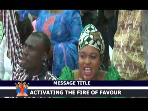 ACTIVATING THE FIRE OF FAVOUR