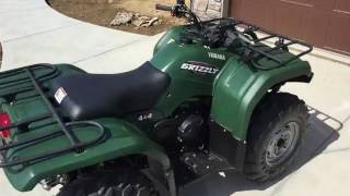 9. 2008 Yamaha Grizzly 350 IRS