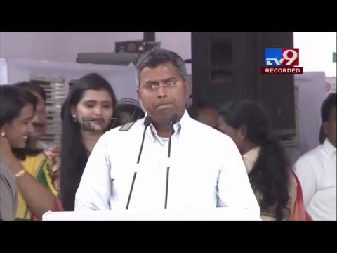 CM Chandrababu Dharma Porata Deeksha || AP Special Status || LIVE - TV9 Telugu