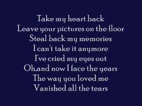 Take My Heart Back- Jennifer Love Hewitt w/ lyrics