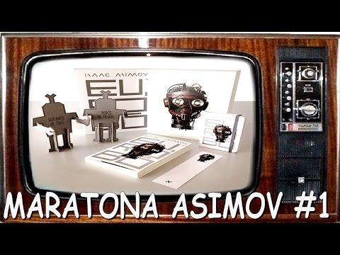 [RESENHA] Eu Robô - Isaac Asimov - Maratona Asimov #1 - Livro de Ficção Científica - Editora Aleph