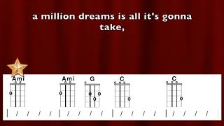 "Video ""Million Dreams"" from Greatest Showman Ukulele Playalong MP3, 3GP, MP4, WEBM, AVI, FLV Januari 2018"
