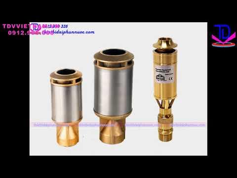 Vòi phun tạo hình cột nước Geyser - Thiết bị đài phun nước