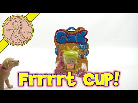 gak - Watch our product feature video for GAK Frrrrt Cup. Butch is back from the vet! He is ready to go and feeling great! ▷Buy Here ▷ http://luckypennyshop.com/nickelodeon-gak-frrrrt-cup/...