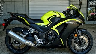 4. 2016 Honda CBR300R Sport Bike Walk-Around Video | Yellow / Black CBR