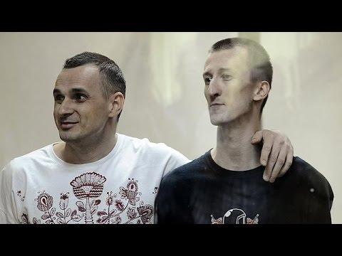 Κατακραυγή μετά την καταδίκη Σεντσόφ για τρομοκρατία από τη Ρωσία