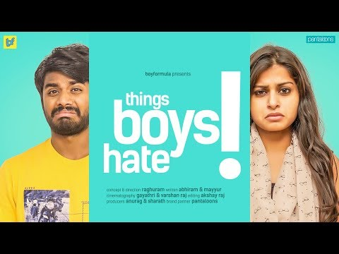 Things Girls Do That Boys Hate | Boy Formula | ChaiBisket