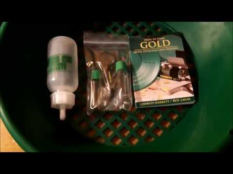 Garrett Gold Panning Kit Unboxing