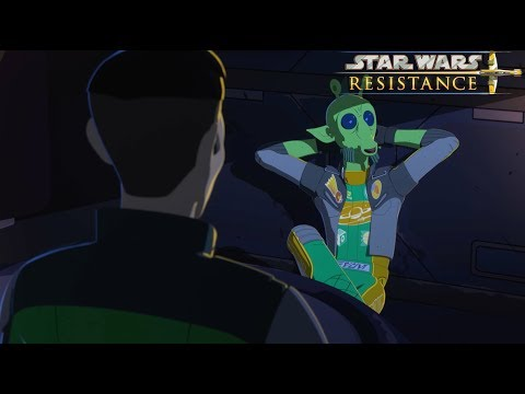 Star Wars Resistance | Episode 5 -  The High Tower | Disney Xd