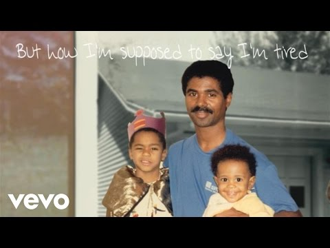 Big Sean Ft. Kanye West & John Legend - One Man Can Change The World (Lyric Video)