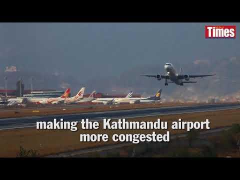 (Air Jam: Tribhuvan International Airport - Duration: 101 seconds.)