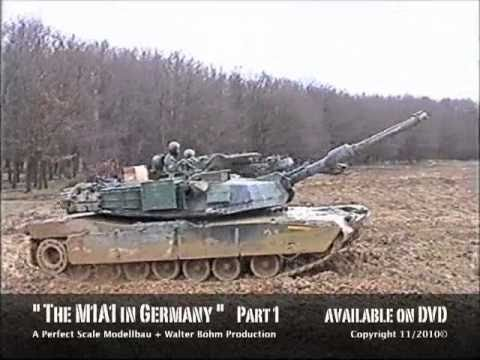Abrams - M1A1 ABRAMS on exercises in Germany.