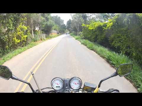 Estrada para Bueno Brandão! Hornet Amarela