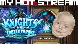 Live streams, first impressions and let's plays daily/weekly.  Hearthstone - Knights of the Frozen Throne - The Lower Citadel (Lady Deathwhisper).████████████████████████████████████████████Deathwhisper has dragon-napped Valithria!  Save the dragon, save the world.████████████████████████████████████████████Like CCGs?  Check out my other playlists at the end of the video.  Know a good CCG?  Post a comment and tell me about it, willing to play new CCGs on channel whenever I come across them!████████████████████████████████████████████SOCIALSTwitch: https://www.twitch.tv/myhotstreamFacebook: https://www.facebook.com/carlos.diadebueyesTwitter: https://twitter.com/CarlosDiaDeBueyPatreon: https://www.patreon.com/MyHotStream████████████████████████████████████████████