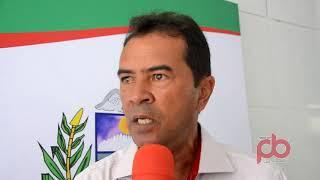 Zenias secretário de agricultura de Sousa fala da Central da Agricultura Famíliar