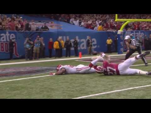 Eric Striker forced fumble seals victory vs Alabama 2013 video.