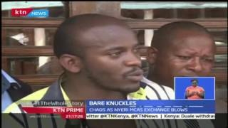 Fight Erupted Between Members Of Nyeri County Assembly Over Planned Impeachment Of The Governor