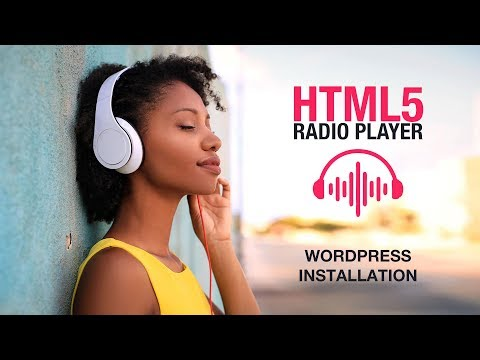 HTML5 Radio Player Plugin Wordpress Installation Tutorial