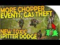 More Chopper Events, Stealing Gas   New Toxic Spitter Dodge  Last Day On Earth Survival 1.5.8 Update