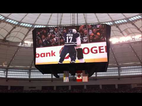 Canucks vs Senators BC Place Heritage Classic Opening LIVE 03/02/14 [HD]