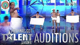 Video Pilipinas Got Talent 2018 Auditions: Mama's Boyz - Towel Dance MP3, 3GP, MP4, WEBM, AVI, FLV April 2018