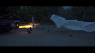 Can The 3 Rotor Shoot 8 Foot Flames? by Rob Dahm