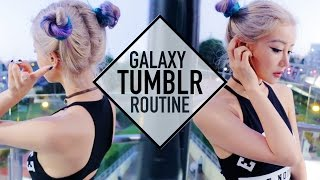 Space Buns Tumblr School Routine Makeup Hair and Outfit ☪ Wengie by The Wonderful World of Wengie