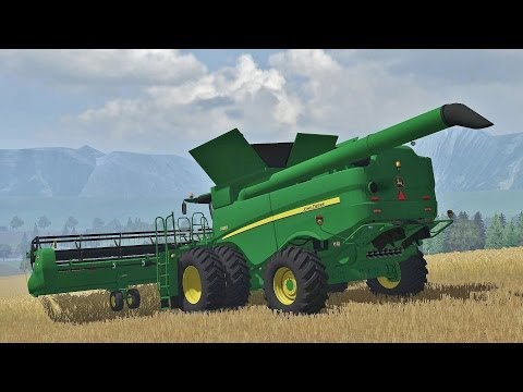 Farming Simulator 2013 Harvest with John Deere S680