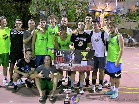 """Final: """"Qué rico hijo vs Maccabi levantá"""" Torneo de Baloncesto Ciudad de Isla Cristina"""