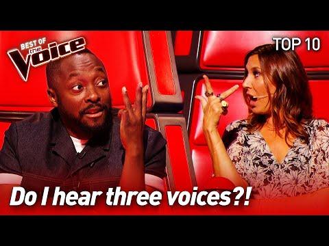 Extraordinary TRIOs on The Voice | Top 10