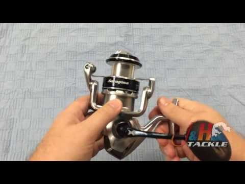 saragosa - Buy a Shimano Saragosa SW SRG5000SW Spinning Reel: http://jhfi.sh/1hwItW8 The Shimano Saragosa SW SRG5000SW Spinning Reel is a great nearshore/offshore spinn...