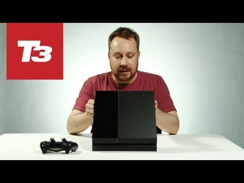 hands on - We've got our hands on the new PS4! For more PS4 news don't forget to subscribe to T3: http://goo.gl/QVjqZ We get our hands on one of the PS4 in our offices ...