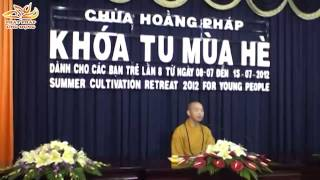 Sức Sống Của Tuổi Trẻ - Thầy Thích Quang Thạnh